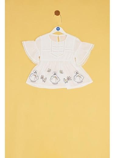BG Baby Bluz Beyaz